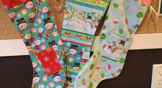 Santa's Workshop Stocking Project